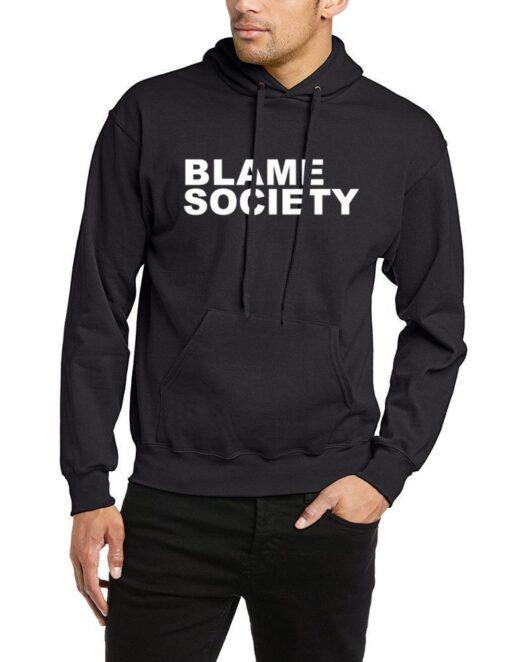Blaming Society Jay Z Rap Hip Hop Lema Rebel Hoodie Sweatshirt